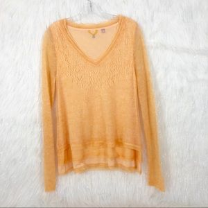 Knitted & knitted wool light sweater